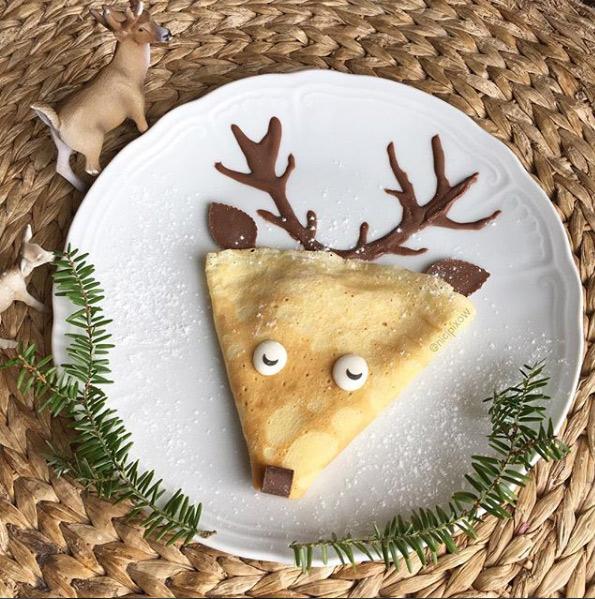 Crepes creative per Natale